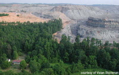 Hobet 21 Mining complex, West Virginia - photo by Vivian Stockman courtesy of OVEC
